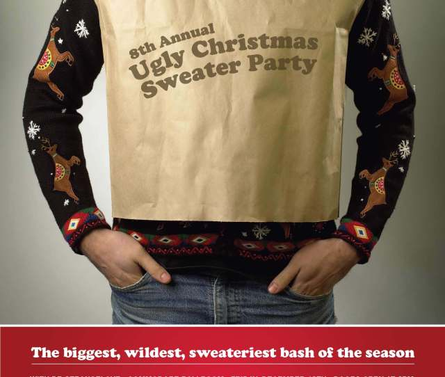 The Original Ugly Christmas Sweater Party Vancouver Canada The Ugly Sweater Shop