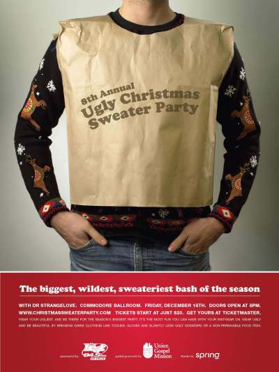 8th Annual Ugly Christmas Sweater Party - Vancouver