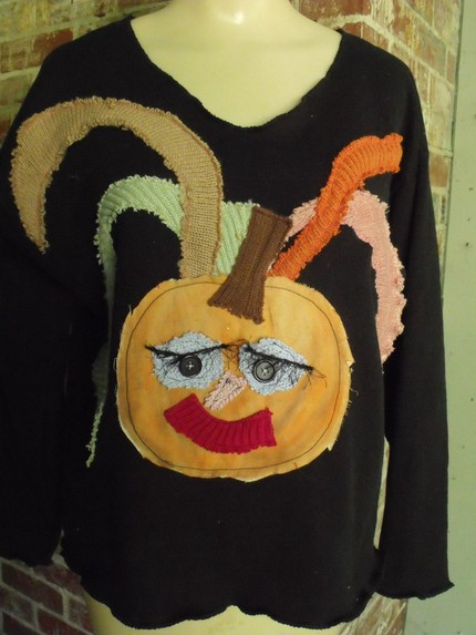 Pumpkin Girl Halloween Shirt