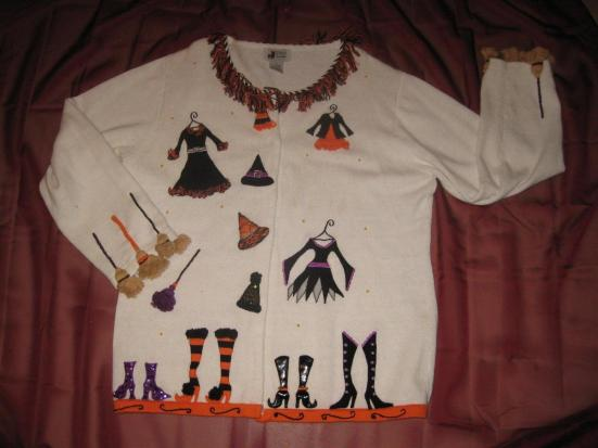 Halloween Sweater, Dressing for the Night