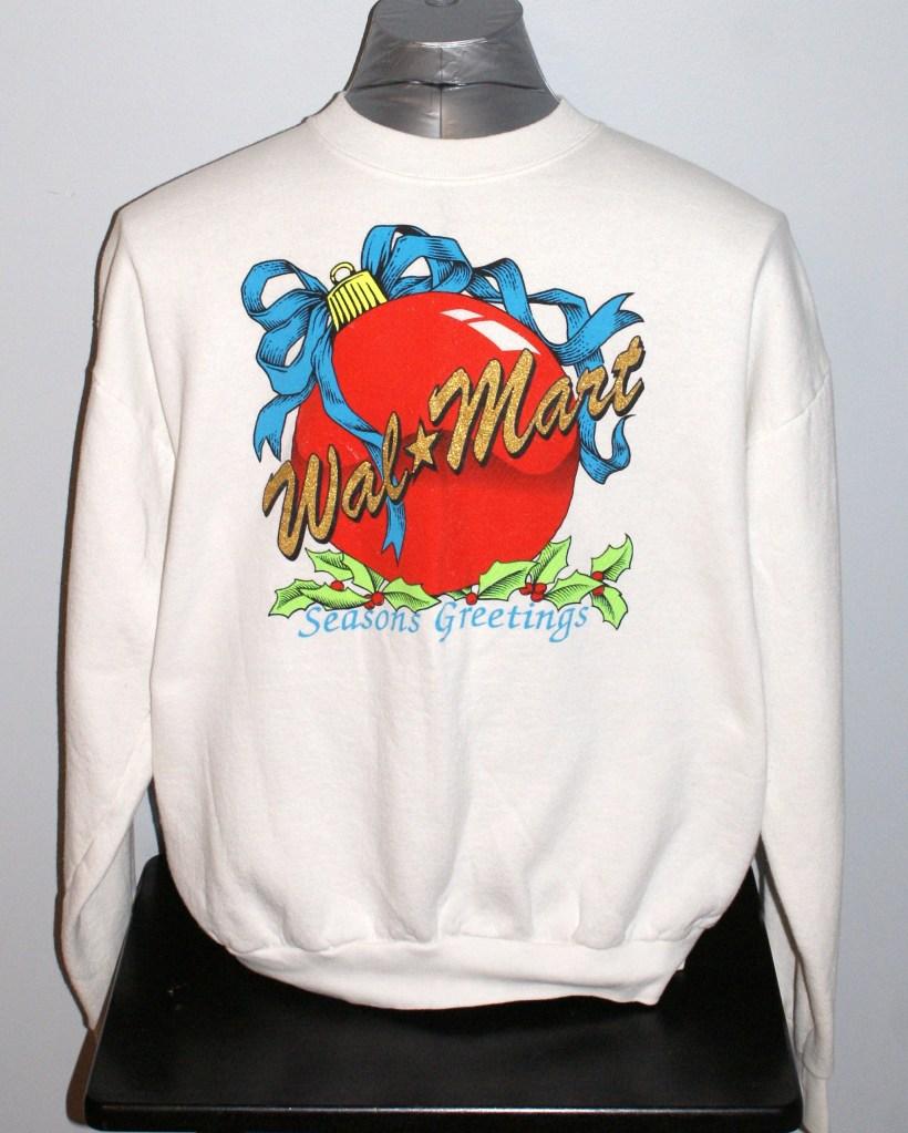 we like vintage 80s wal mart ugly christmas sweater sweatshirt on ebay the ugly sweater shop - Ebay Ugly Christmas Sweater