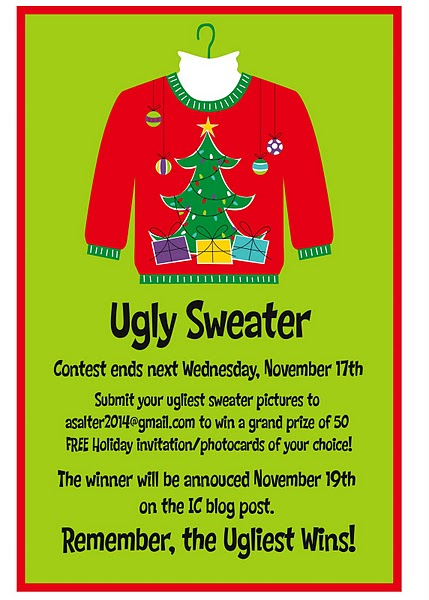 Ugly Christmas Sweater Invites was awesome invitations sample