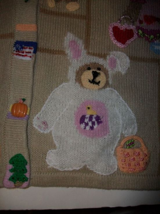 STORYBOOK KNITS SWEATER EASTER BEARS ST. PATRICK'S NEW