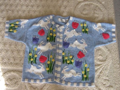 Design Option Sweater Easter Philip Jane Gordon Size L