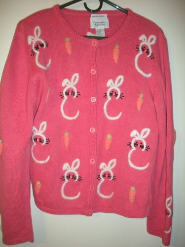 Christopher & Banks Easter Sweater sz M