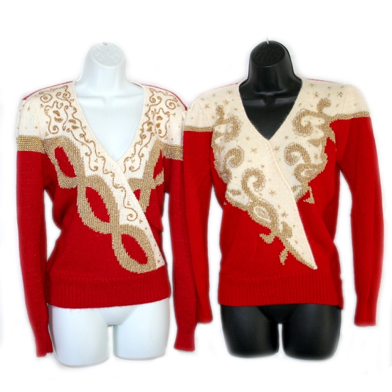 Michael Jackson tacky ugly gem sweaters