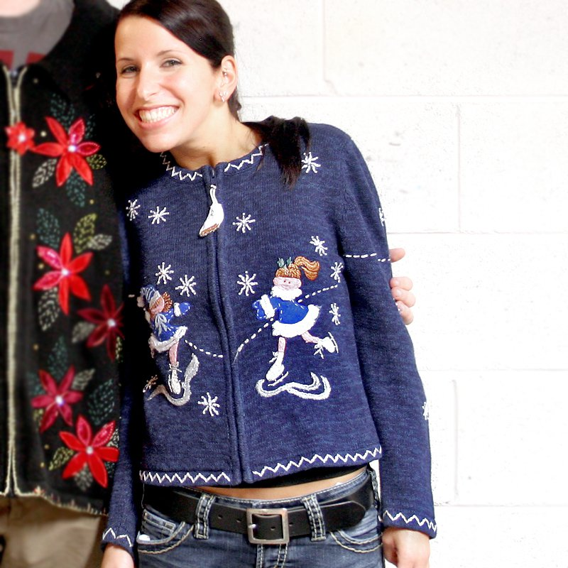 Last minute ugly christmas sweater