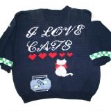 Sweater for eHarmony lady who lovescats