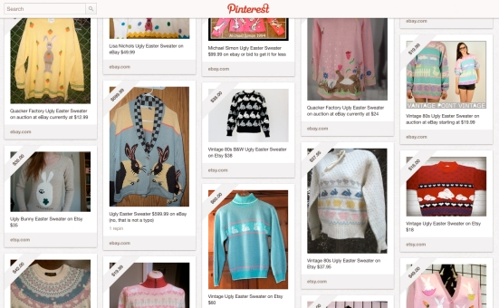 Ugly Easter Sweaters on Pinterest