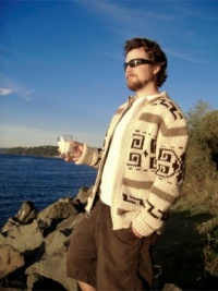 The Dude Big Lebowski Sweater from andreaknits.com